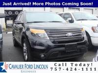 2015 Ford Explorer Limited SUV V6 24V MPFI DOHC Flexible Fuel