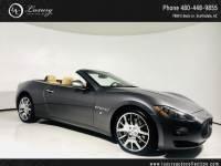 2012 Maserati GranTurismo Convertible Navi   Htd Seats  Chrome Wheels   Parking Sensors   11 13 Rear Wheel Drive Convertible