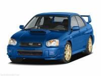 2005 Subaru Impreza Sedan 2.5 WRX STi w/Gold Wheels For Sale in Oshkosh