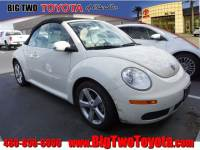Used 2007 Volkswagen New Beetle Triple White Triple White Convertible in Chandler, Serving the Phoenix Metro Area