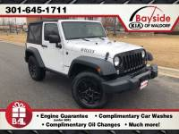 Used 2015 Jeep Wrangler Sport 4x4 SUV in Waldorf
