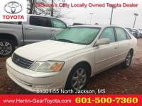 2003 Toyota Avalon 4dr Sdn XLS w/Bench Seat