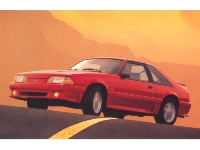 Photo Used 1993 Ford Mustang GT Hatchback V8 SMPI 16V in Red Hill, PA