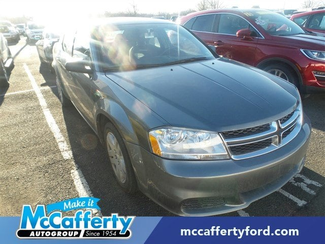 Photo Used 2013 Dodge Avenger For Sale  Langhorne PA - Serving Levittown PA  Morrisville PA  1C3CDZAB5DN628235