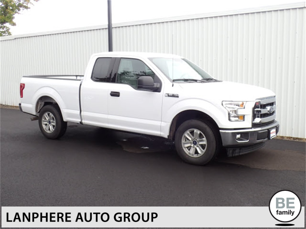Photo PRE-OWNED 2017 FORD F-150 XL 1-OWNER, POWER GROUP, LOW MILES RWD SUPER CAB