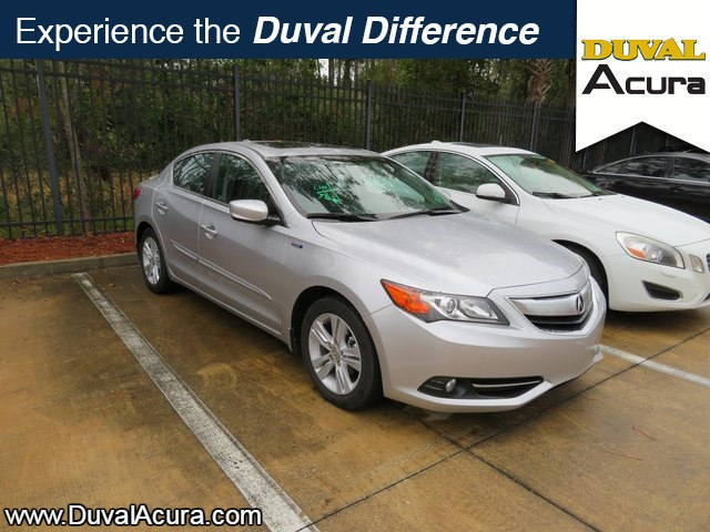 Photo Used 2013 Acura ILX Hybrid For Sale  Jacksonville FL