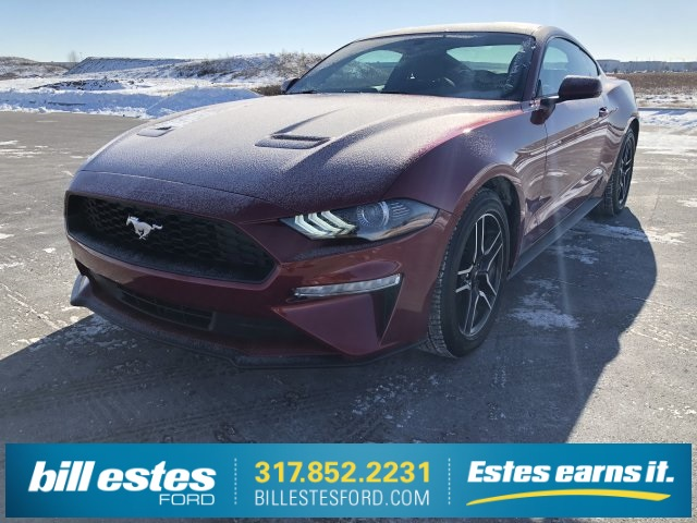 Photo New 2018 Ford Mustang EcoBoost RWD 2D Coupe