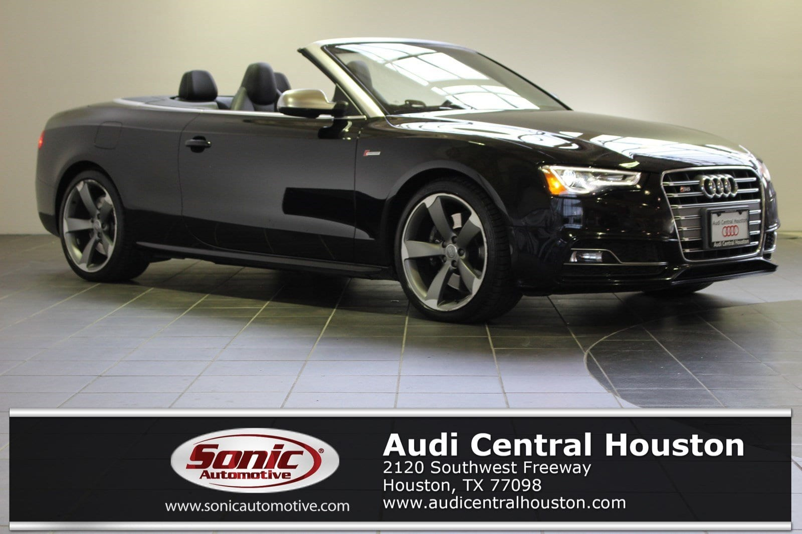 Photo Certified Used 2016 Audi S5 3.0T Cabriolet in Houston, TX
