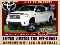 2012 Toyota Tundra LTD CrewMax 4x4 TRD OFF-ROAD - LIFTED
