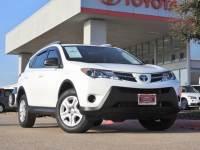 2015 Toyota RAV4 LE Certified SUV Front-wheel Drive 4-door