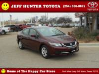 Used 2014 Honda Civic For Sale in Waco TX Serving Temple   VIN: 19XFB2F50EE071524
