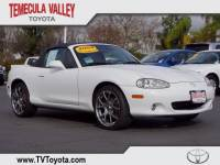 2004 Mazda MX-5 Miata Convertible Rear-wheel Drive in Temecula