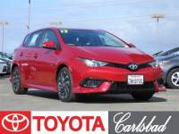 2017 Toyota Corolla iM Base Hatchback Front-wheel Drive in Carlsbad