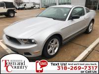 PRE-OWNED 2010 FORD MUSTANG V6 RWD 2D COUPE