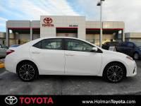 2015 Toyota Corolla S Plus Sedan Front-wheel Drive