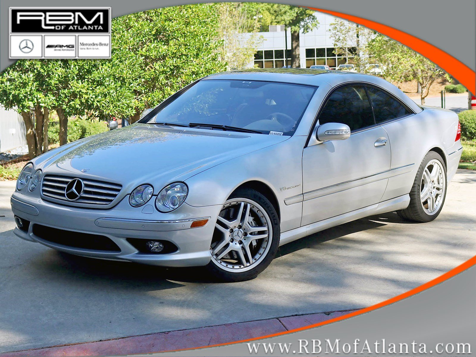 Photo Pre-Owned 2006 Mercedes-Benz CL-Class CL 55 AMG Coupe With Navigation