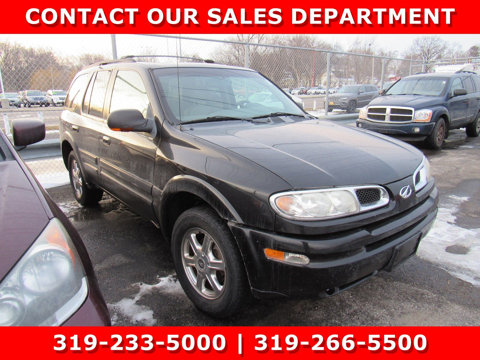 Photo Used 2003 Oldsmobile Bravada AWD for Sale in Waterloo IA