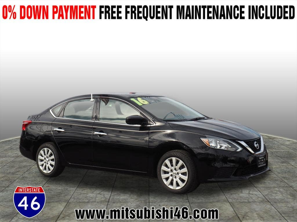 Photo Used 2016 Nissan Sentra S Sedan  Totowa NJ  VIN 3N1AB7AP8GY309480