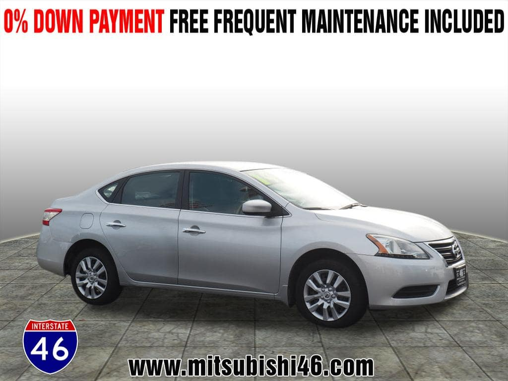 Photo Used 2014 Nissan Sentra S Sedan  Totowa NJ  VIN 3N1AB7APXEY275975