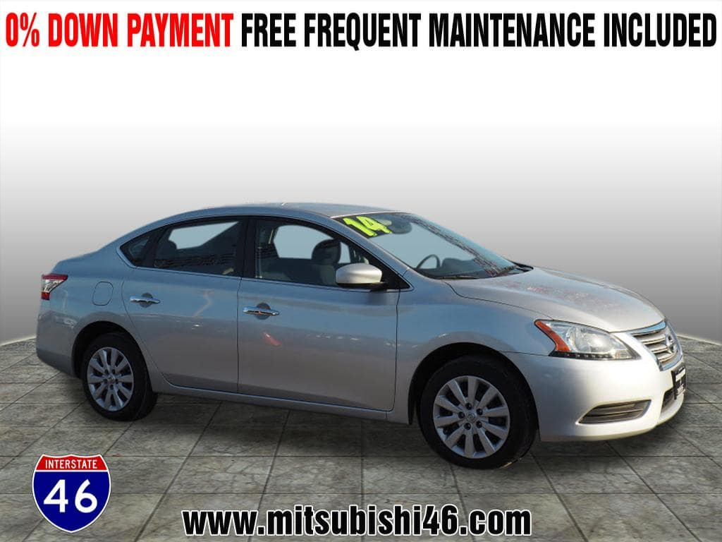 Photo Used 2014 Nissan Sentra SV Sedan  Totowa NJ  VIN 3N1AB7AP8EL676213