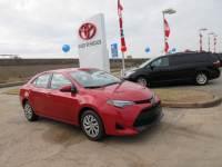 Used 2017 Toyota Corolla LE Sedan FWD For Sale in Houston