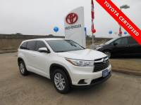 Certified 2015 Toyota Highlander LE SUV FWD For Sale