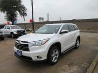 Used 2015 Toyota Highlander Limited SUV FWD For Sale in Houston