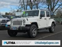 2017 Jeep Wrangler Unlimited Sahara SUV in Eugene
