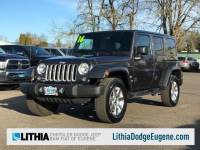 2016 Jeep Wrangler Unlimited Sahara 4x4 SUV in Eugene