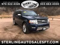 2015 Ford Expedition EL Platinum 4WD