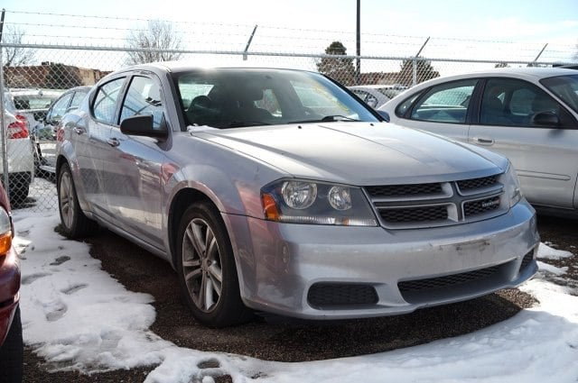 Photo Used 2013 Dodge Avenger For Sale near Denver in Thornton, CO  Near Arvada, Westminster, Lakewood  Broomfield, CO  VIN 1C3CDZAG0DN769435