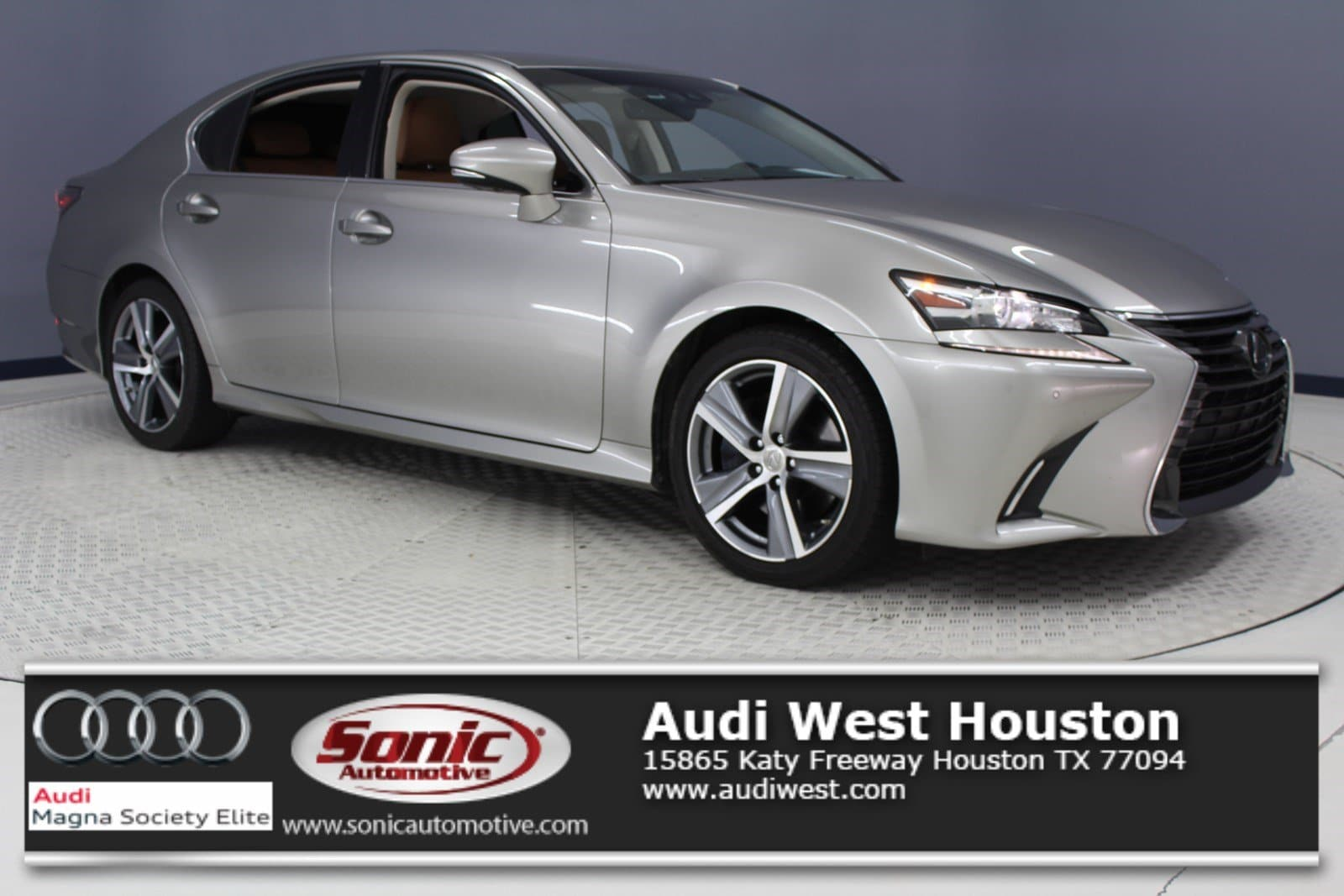 Photo Used 2016 LEXUS GS 350 4dr Sdn RWD in Houston, TX