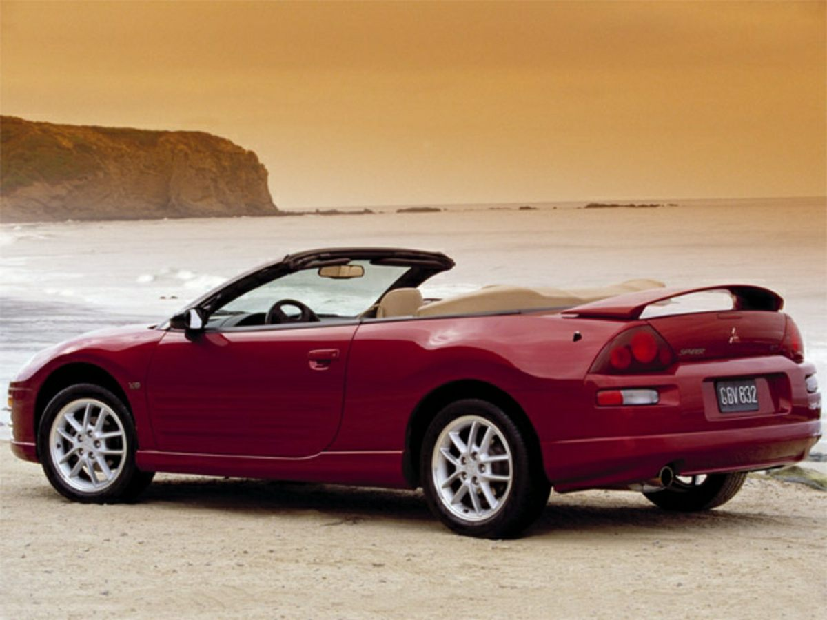 Photo 2001 Mitsubishi Eclipse Spyder GT Convertible for sale in Princeton, NJ