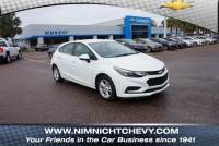 Certified Pre-Owned 2017 Chevrolet Cruze 4dr HB 1.4L LT w/1SD FWD 4dr Car
