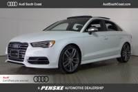 Certified Pre-Owned 2015 Audi S3 2.0T Prestige Sedan in Santa Ana, CA