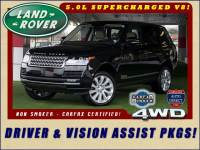 2016 Land Rover Range Rover Supercharged 4WD - DRIVER & VISION ASSIST PKGS!