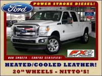 2011 Ford Super Duty F-250 Pickup Lariat Crew Cab 4x4 FX4 - HEATED/COOLED LEATHER!