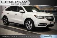 Pre-Owned 2016 Acura MDX SH-AWD 4dr AWD