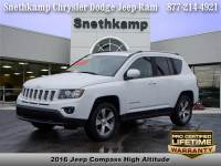 Used 2016 Jeep Compass Latitude 4x4 for sale near Detroit
