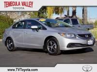 2015 Honda Civic SE Sedan Front-wheel Drive in Temecula