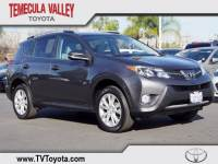 2015 Toyota RAV4 Limited SUV Front-wheel Drive in Temecula