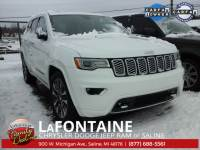 CERTIFIED PRE-OWNED 2017 JEEP GRAND CHEROKEE OVERLAND 4WD