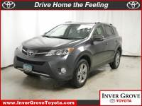 Used 2015 Toyota RAV4 AWD XLE For Sale in MN