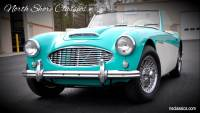 1959 Austin Healey Roadster -FRAME OFF RESTO-100/6- DUAL CARBS