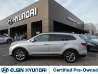 Certified Pre-Owned 2017 Hyundai Santa Fe SE 3.3L Auto AWD For Sale Elgin, IL