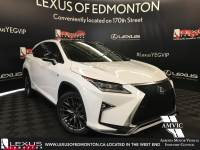 Pre-Owned 2017 Lexus RX 350 DEMO UNIT - F SPORT SERIES 3 All Wheel Drive 4 Door Sport Utility