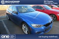 Certified Pre-Owned 2015 BMW 3 Series 335i xDrive AWD