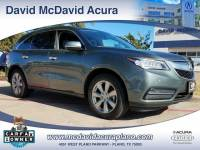 2015 Acura MDX MDX with Advance and Entertainment Packages