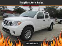 2017 Nissan Frontier SV Crew Cab 5AT 2WD
