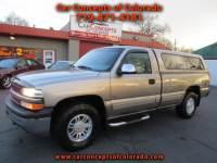 2000 Chevrolet Silverado 1500 Reg. Cab Long Bed 4WD
